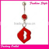 fashion wedding belly button rings