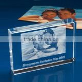 3D laser crystal wedding gifts 3d crystal laser engraving gifts engraved laser gift