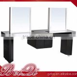 Beiqi Luxurious Salon Mirror Station Hairdressing Barber Shop Unit Mirror Wholesale Salon Furniture