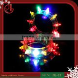 Multi Colors Night Glow Light Festival Items Led Party kids Toy Wristband Christmas Light Up Led Flashing Bracelet