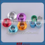 CNC high quality aluminium longboard skate board sk8 scooter roller quad rink figure skate bearing spacer