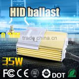 Promotion !Slim 12v Hid xenon lamp light Ballast 9-32V 35W xenon lamp headlight bulb lamp & ballast