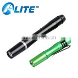 Promotional aluminum alloy medical pen light AAA battery powered pen torch                                                                         Quality Choice