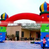 Activities Children's Paradise Rainbow Oxford Cloth Outdoor Inflatable Arch