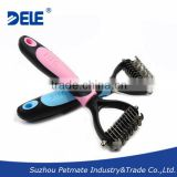 Dog accessories Deamatting Comb Professional Grooming Tool                                                                         Quality Choice
