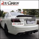 Carbon fiber body kits for BENZZ W204 C CLASS C63 AMG Trunk Rear Spoiler