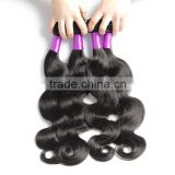 New Arrival Factory Price Unprocessed Human Hair Extension, 100 Real Brazilian Human Hair Double Drawn Weft