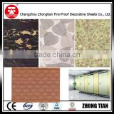 Compact Resin Laminate,Craft Paper Material and One Piece Structure toilet partition compact laminate