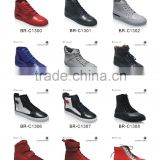 Good quality men sneaker made of first cow leather casual shoe brand professional manufacturer