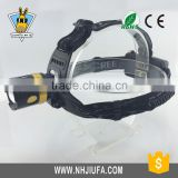 JF T6 dimmable led zoom rechargeable mining headlamp, aluminium zoom led headlamp,adjustable high power zoom headlamp