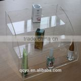 2014 designed acrylic display stand with logo