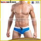 S-4XL men sexy tight swimwear nylon hipster sexy men swimwear                                                                                                         Supplier's Choice