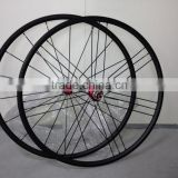 ruote carbonio 20mm carbon wheels tubular super light 18h front 21h rear aero spokes