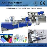 Good quality Double screw polystyrene Sheet Making Machine