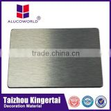 Brushed aluminum composite panel for sale from China Suppliers