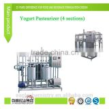 Yogurt Pasteurizer Plate Type Pasteurizer for Milk Yogurt Juice Flash Pasteurization Equipment