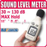 Mini Pressure Decibel 30~130dB Tester Backlight Audio Noise Sound Level Meter