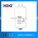 CBB60 250V/450V lighting capacitor in different capacity, good quality, long lifetime guarantee