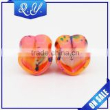 New arrival body jewelry made in china printed ear tunnel & ear plugs & ear piercing expander