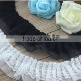 DIY Solid Color Lace Trimming For Wedding,Fascinating Garment Lace Accessory For Ladies Clothes