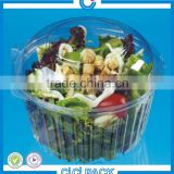 Cheap price disposable plastic(PP/PS/OPS/PET) food/fruit/candy/salad packaging container/box