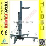 TL-800 Max loading 300kg Lifting Tower , Truss Lifting tower , Speaker lifting tower