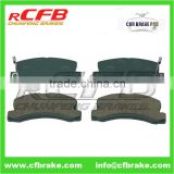 AUTO BAEKE PADCAR PART BRAKE PAD FOR TOYOTA HOLDEN APOLLO,AVENSIS,CAMRY/VISTA,CARINA,CELICA,CORONA,WINDOM