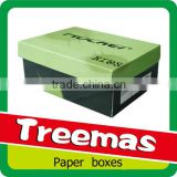 Customize packaging and printing corrugated paper shoe boxes supplier in Guangzhou China
