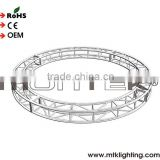 Metal roof round truss manufacturer aluminum stage circular truss Aluminum Truss on sale