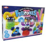 Handcraft Gift 30mm Brain Fuzzoodle ,Fluffy Sticks