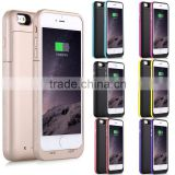 For iPhone 6 plus Power Bank External Backup Battery Rechargeable Case Charger                                                                         Quality Choice