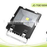 100W LED COB Floodlight 1W Series/Tree lighting with Epistar or Bridgelux chips IP66 Waterproof Aluminium +Tempered glass CE&RoH