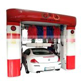Best selling high pressure automatic gantry type car wash machine DXC(A)-541 five brushes with CE for cars and suv
