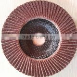 Flexible Brown Aluminum Oxide Polishing and Grinding Flap Disc for Metal/Wood