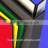 high quality decorative 4mm pvdf coating aluminum composite panel exterior wall cladding