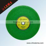 flap reinforcing fiberglass abrasive resin bonded diamond cutting disc for metal