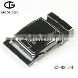 2015 Gaolibao wholesale high quality man belt buckle 40mm army buckle with loop SZ-400244