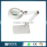 Professional High Reliable And Long Lasting Of Multifunctional Desk Top Magnifying Lamp With LED Skin Analyser