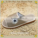 New arrival comfortable indoor cotton slippers hotel shoes factory wholesale cotton slippers