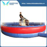 hot sale inflatable mechanical bull for kids sport games