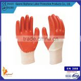 Gloves Nitrile For Food Industry With 13G Polyester