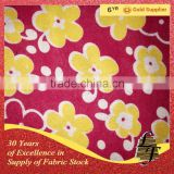 100 cotton printed flannel fabric for pyjamas and garment