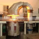 Capacity 1ton, 1000kg Small Medium Frequency Melting Induction Copper Furnace for copper melting