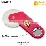 New Bicycle Pizza Cutter with Opener