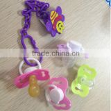 Hot Good Quality baby pacifier chain funny pacifier Best seller BPA free baby pacifier holder lovely baby pacifier