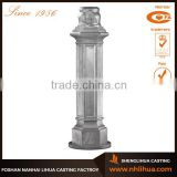 A052 Classic Outdoor Lighting Cast Iron Decorative Light Pole Base