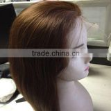 full lace wig for white women human hair peruvian full lace wig glueless silk top full lace wig