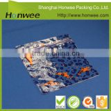 OEM pvc pouch baby garment bag swimwear packaging bag with zipper