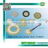 35mm with pvc piezo disc element FT-35G-3.2B1