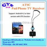 Micro USB OTG ATSC Digital Mobile Live TV Tuner Receiver for Android Phone Pad